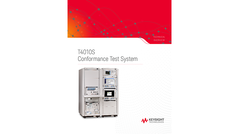 T4010S Conformance Test System