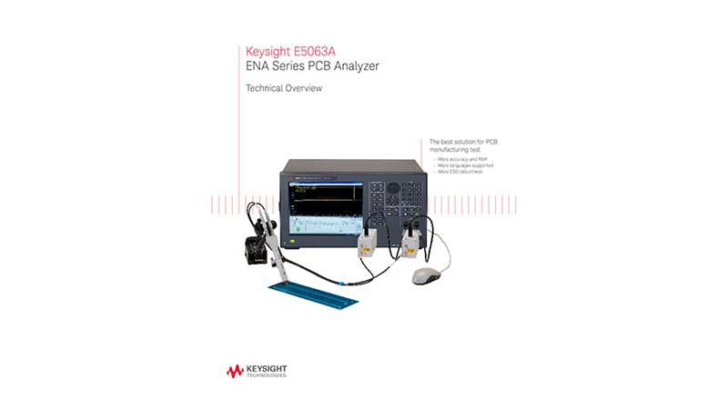 E5063A ENA Series PCB Analyzer