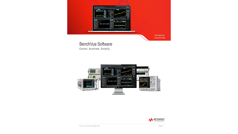BenchVue Software (BV0000A)