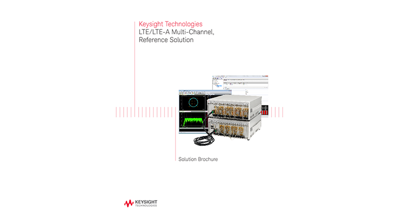 LTE/LTE-A Multi-Channel, Reference Solution