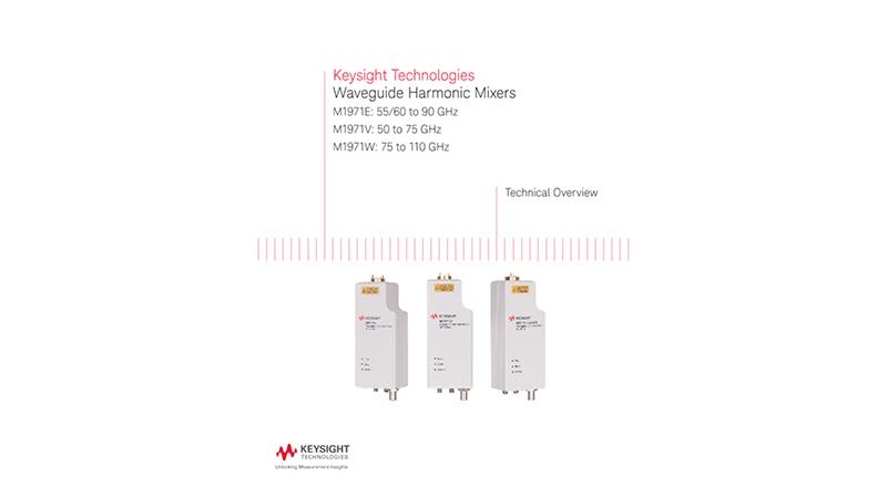 Waveguide Harmonic Mixers M1971E/V/W