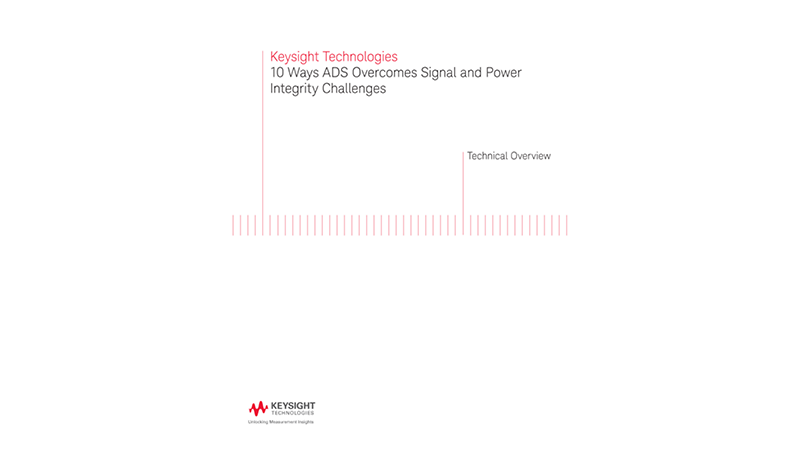 8 Ways ADS 2016 Overcomes Signal and Power Integrity Challenges