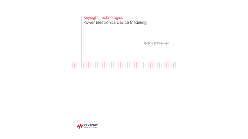 Power Electronics Device Modeling