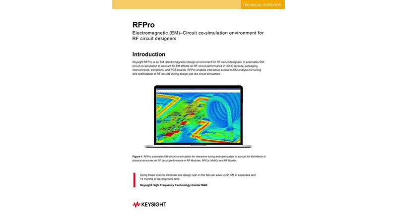 RFPro Electromagnetic (EM) Simulation Platform - TE