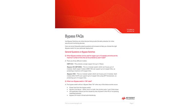Bypass FAQs
