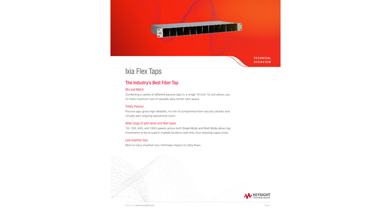 Ixia Flex Taps