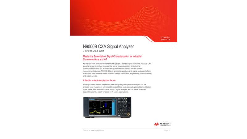 N9000B CXA Signal Analyzer