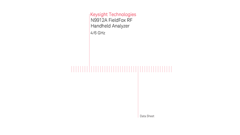 N9912A FieldFox RF Analyzer - Data Sheet