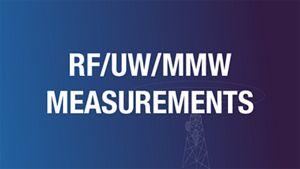RF UW MMW Measurements Webinar