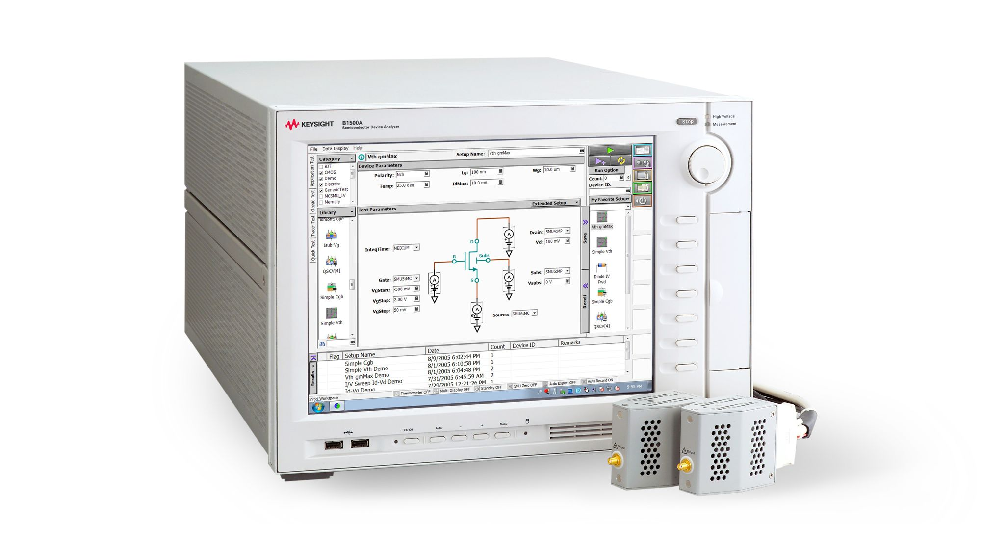 Semiconductor Keysight Dc Semiconductors And Digital Electronics In An Easy To Understand Device Analyzers