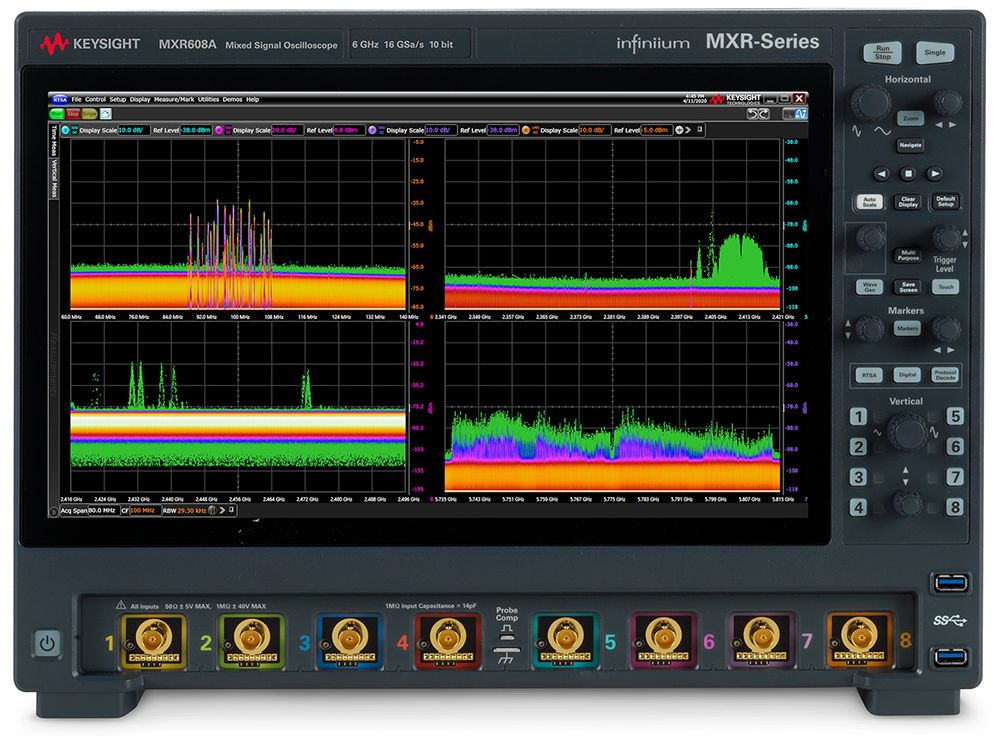 Infiniium MXR-Series Real-Time Oscilloscopes