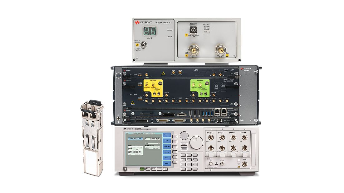Optical Transceiver Test Solutions
