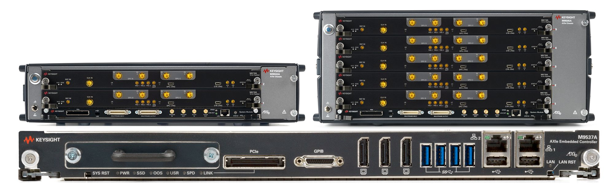 AXIe Chassis and Controllers