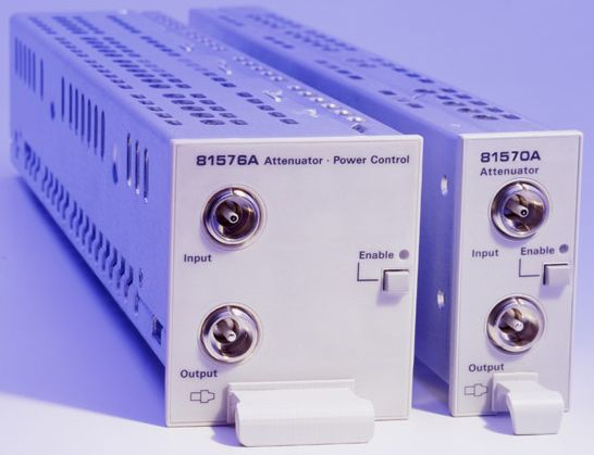 81576A Variable Optical Attenuator Modules with Power Control and Straight Interface