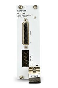 M9216A PXI 32-channel High Voltage Data Acquisition