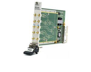 M9146A PXI RF Multiplexer: 3GHz, Dual 1x4, 50 Ω, Terminated