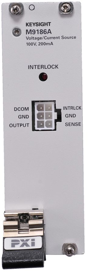 M9186A PXI Isolated Single Channel Voltage/Current Source, 100V