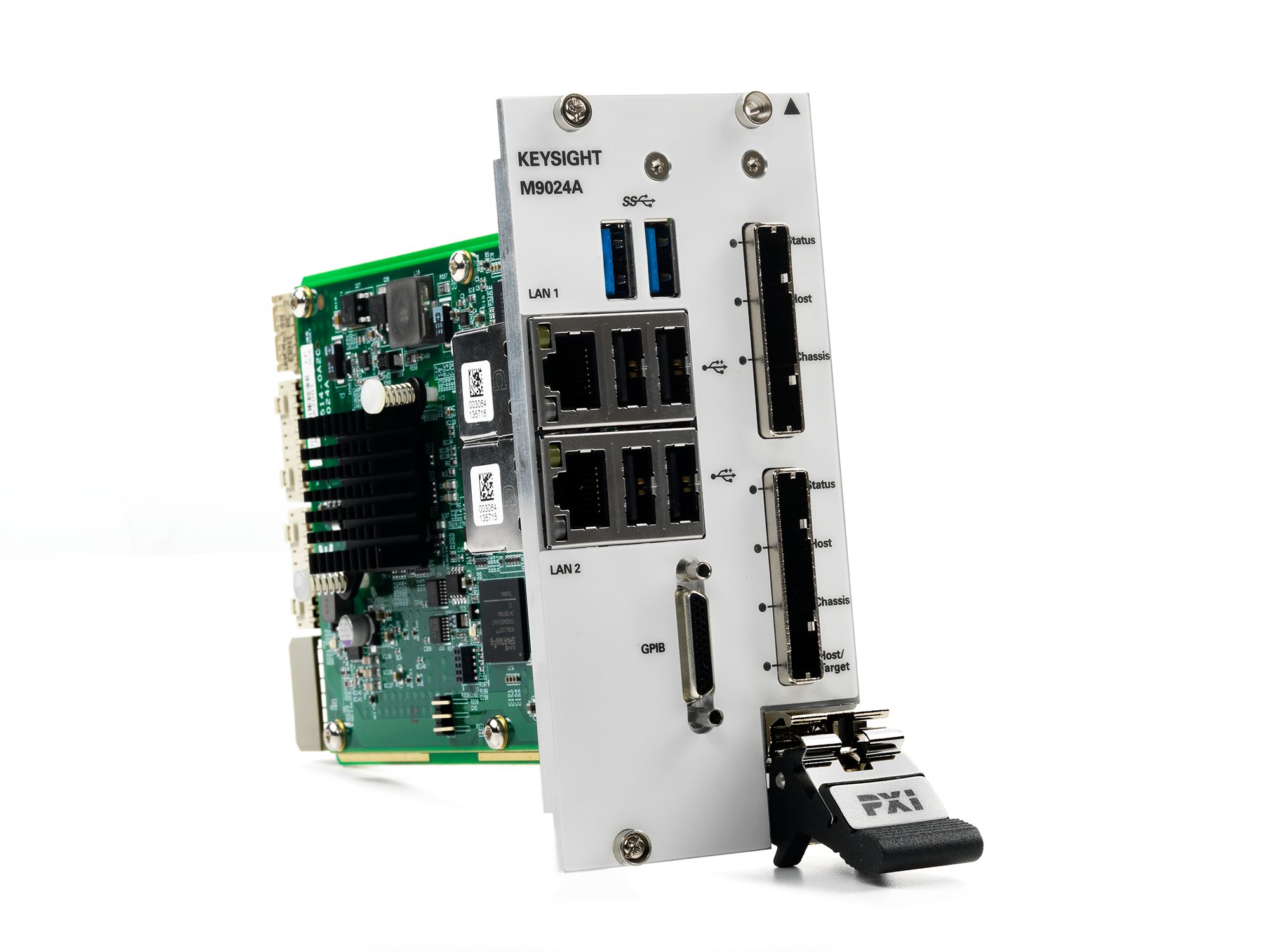 M9024A PXIe High Performance System Module with Connectivity Expansion: Dual Port (x16), Gen 3