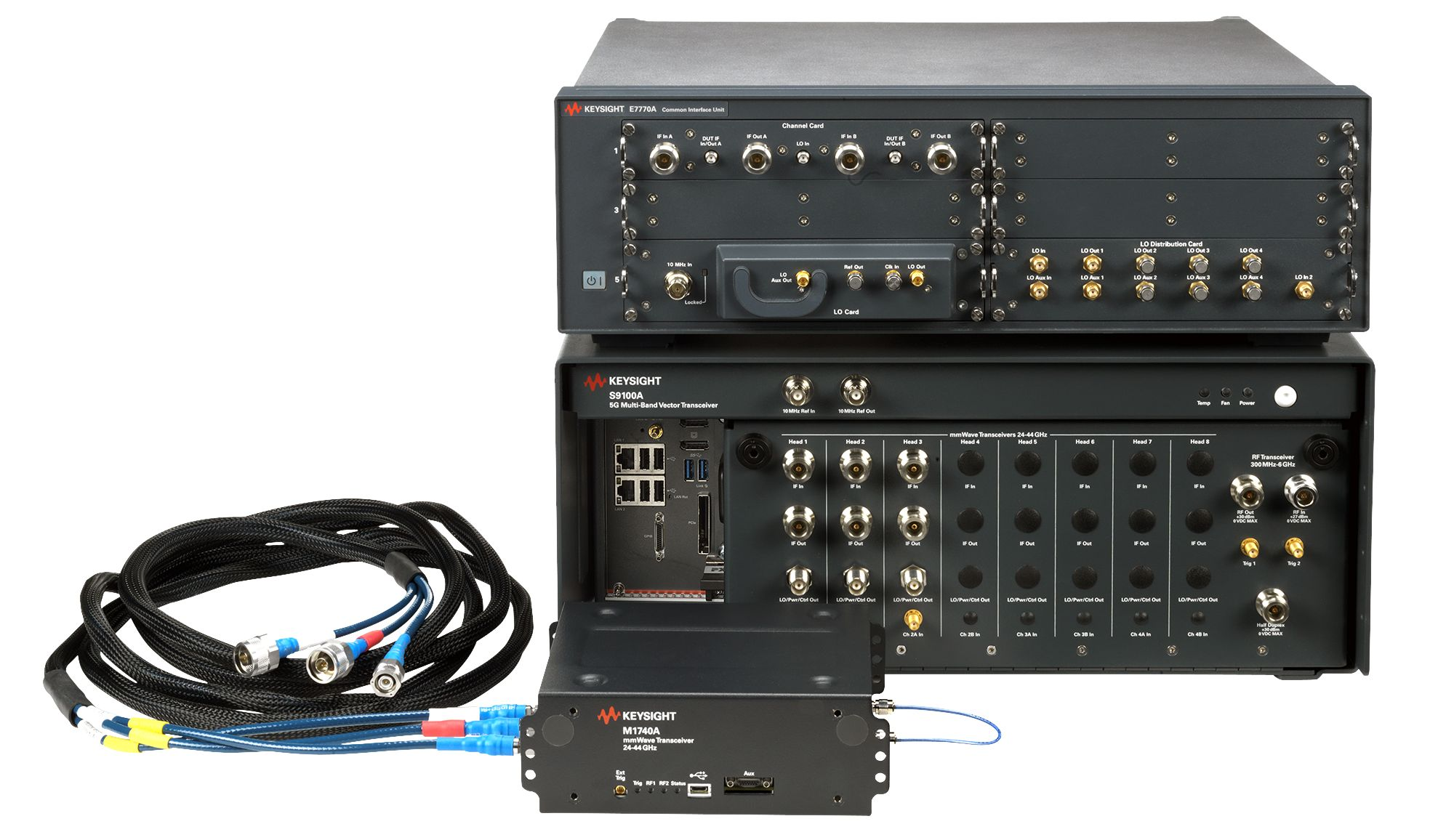 S9100A 5G Multi-Band Vector Transceiver