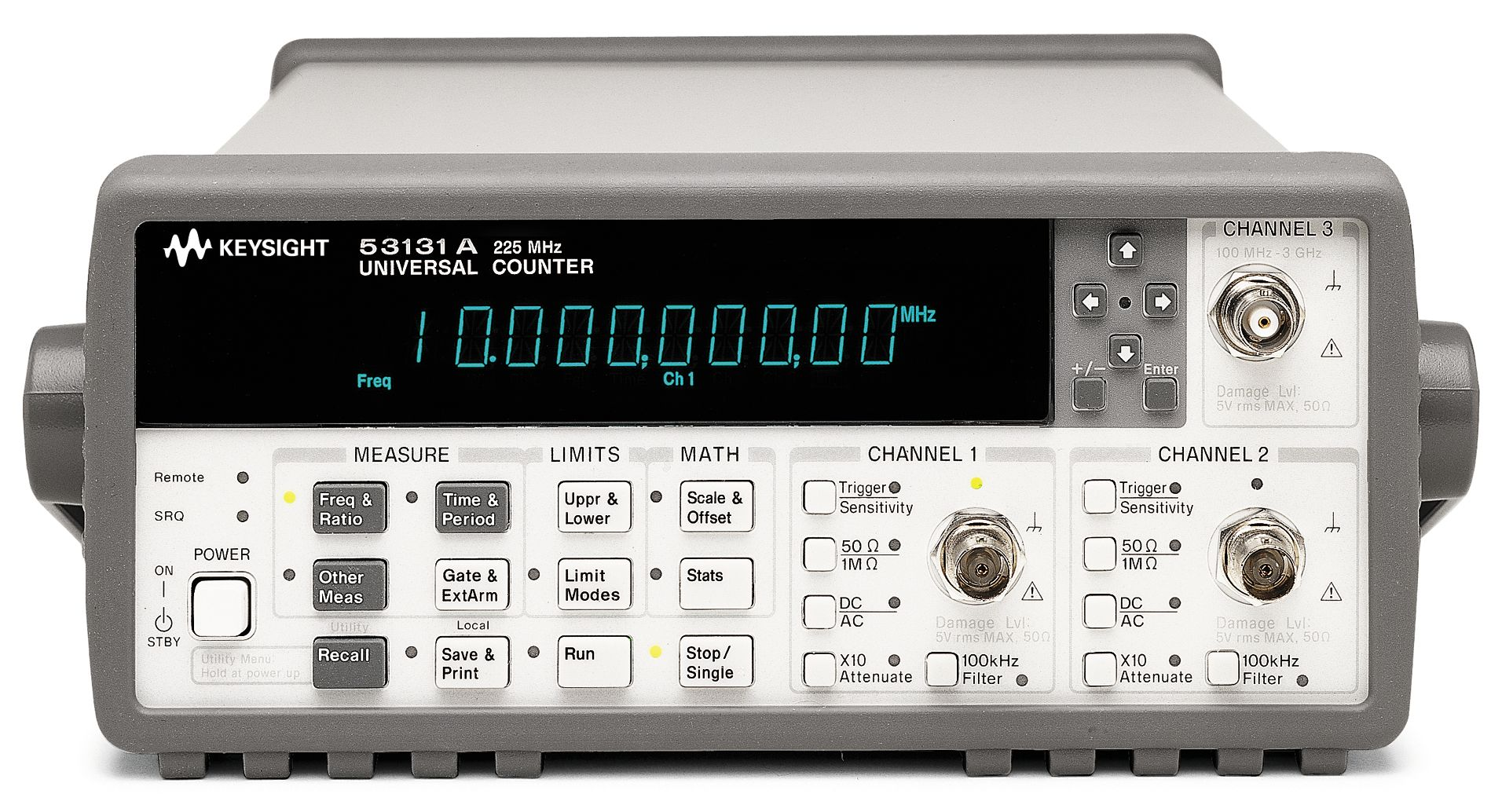 HP 5334B Agilent Universal Frequency Counter 100MHz Calibration if Requested