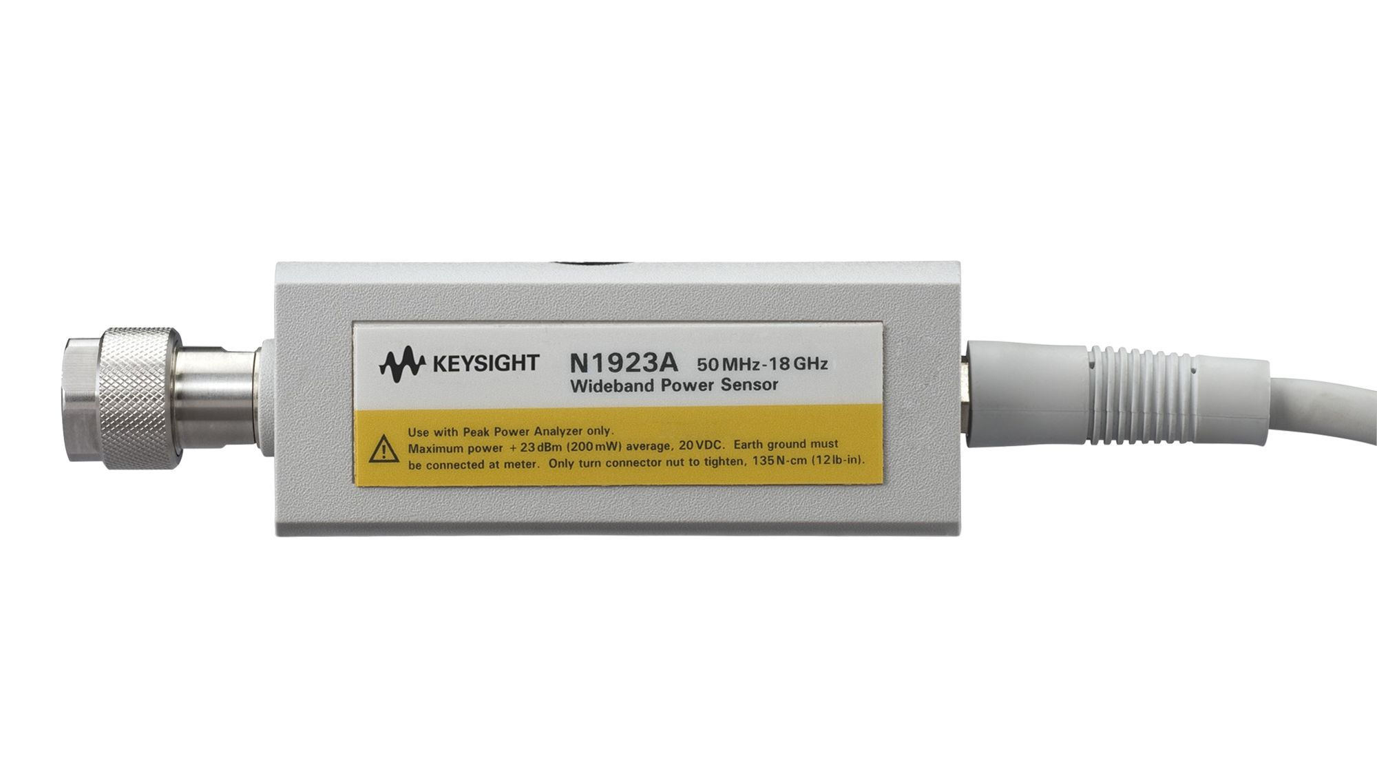 N1923A Wideband Power Sensor, 50 MHz to 18 GHz