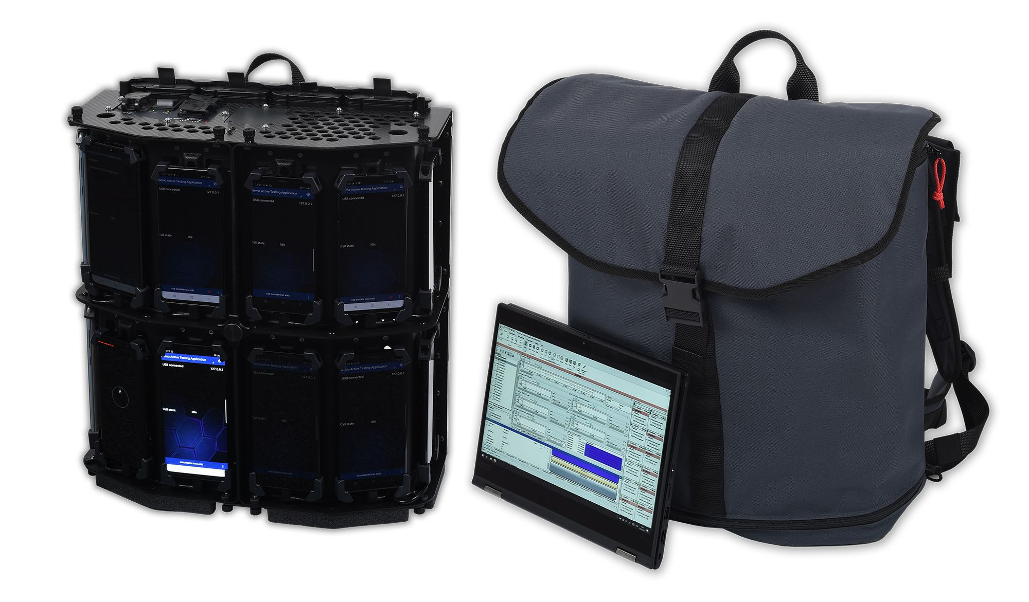 Nemo Backpack Pro 5G In-Building Benchmarking Solution