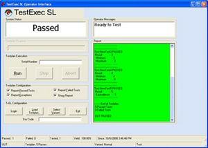 E2011GC TestExec SL Software