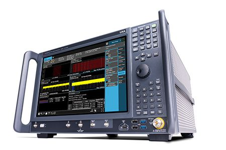 A Keysight network analyzer