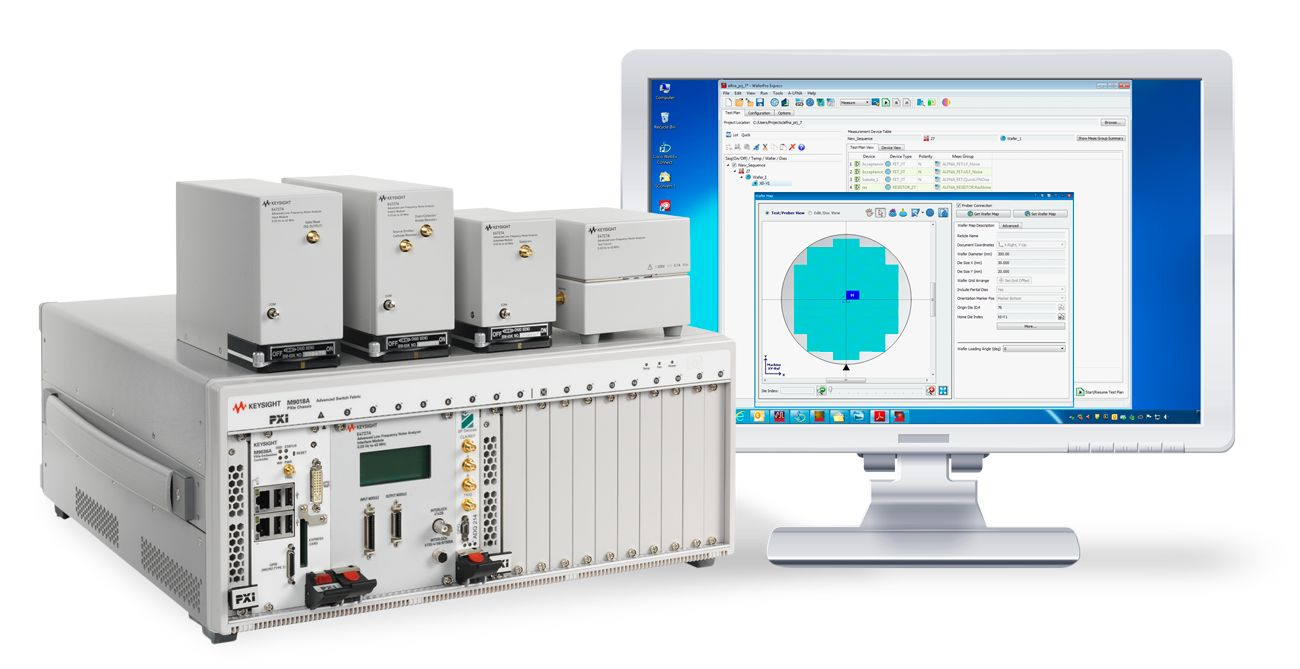 Circuit Design Software Keysight Services Integrated Technologies Low Frequency Noise Analyzer