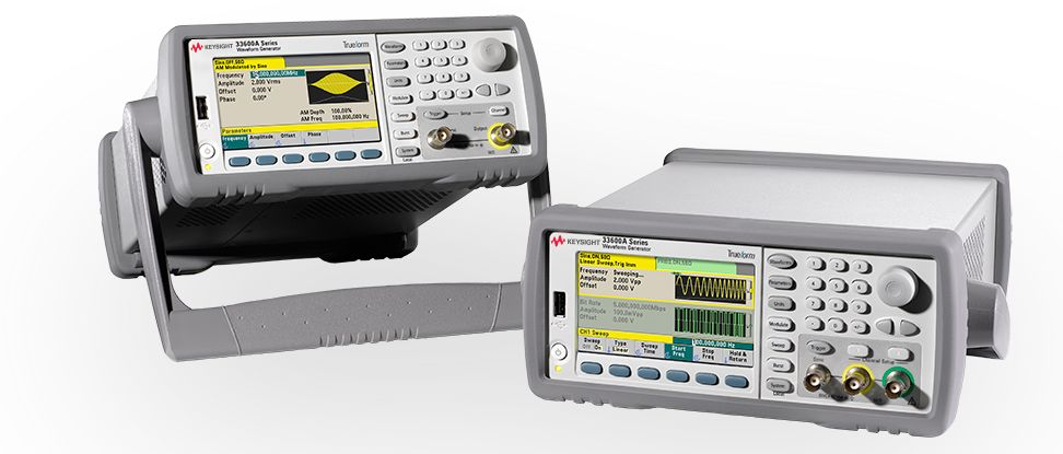 Trueform Series Waveform and Function Generators