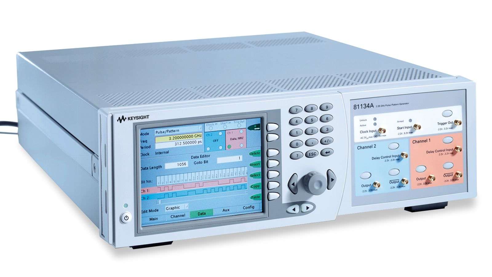 81134A Pulse Pattern Generator front right view