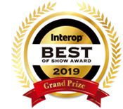 interop best of show award badge