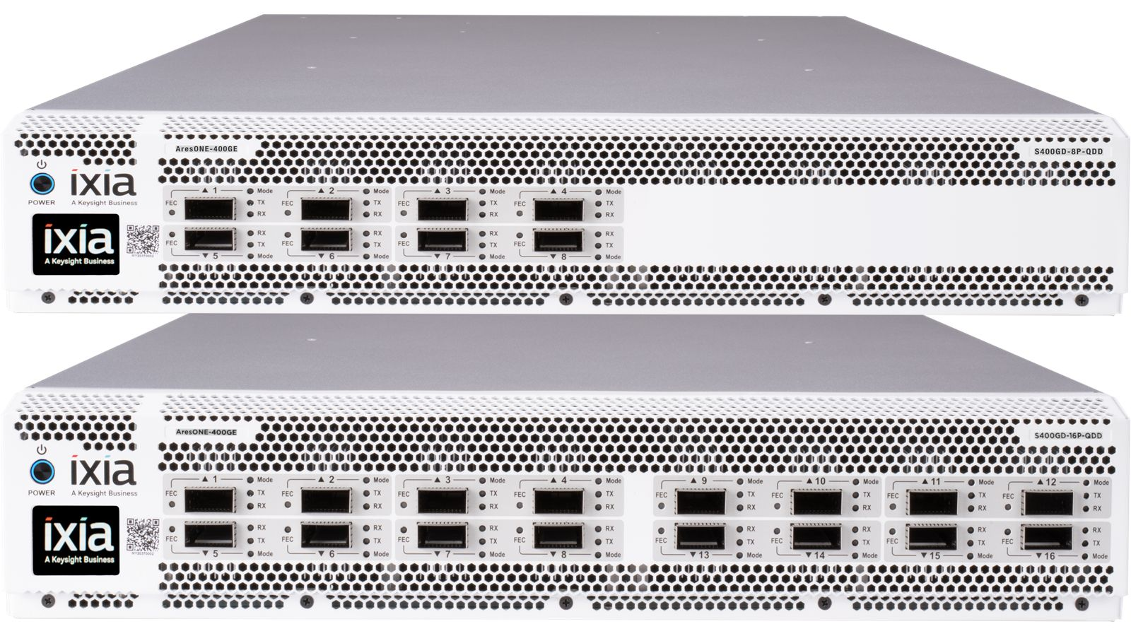 AresONE-S-400GE 16-Port PAM4 and NRZ Test