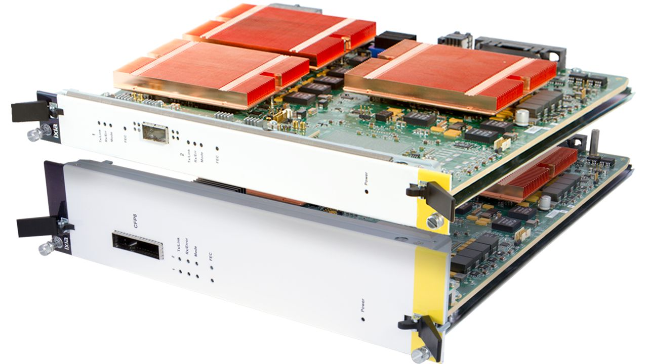 K400 400GE QSFP-DD and CFP8 Load Modules