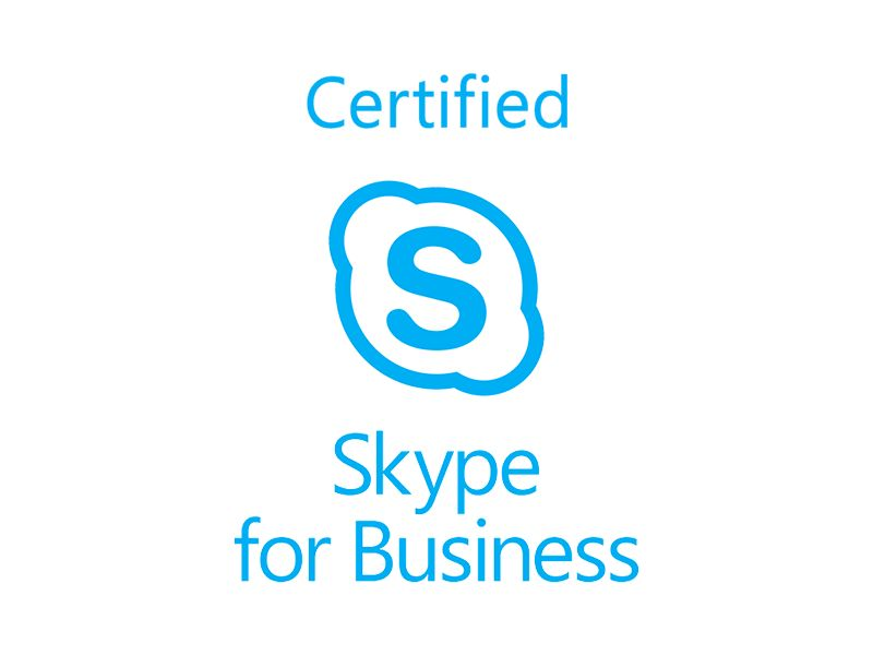 Certified for Skype for Business