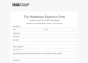 Try Hawkeye Express FREE