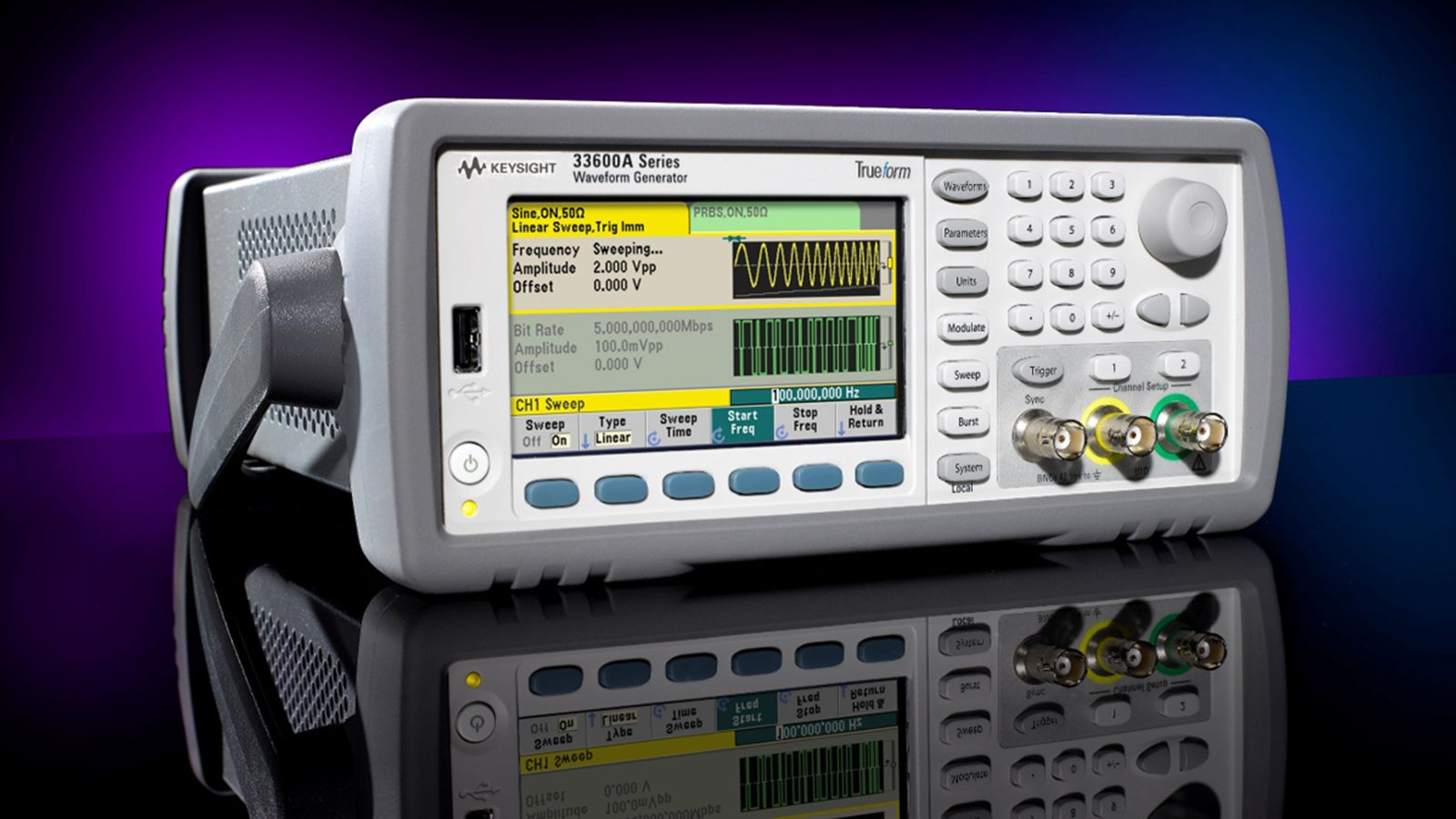 Keysight's Waveform Generator and Function Generator