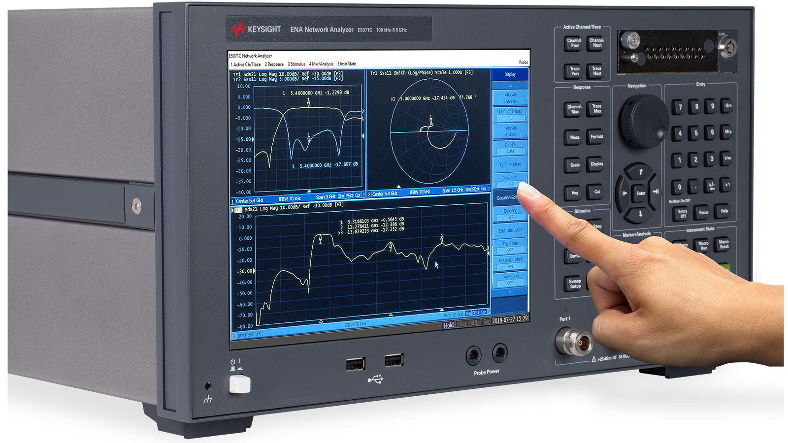 ENA rf network analyzer helps simplify mixer characterization