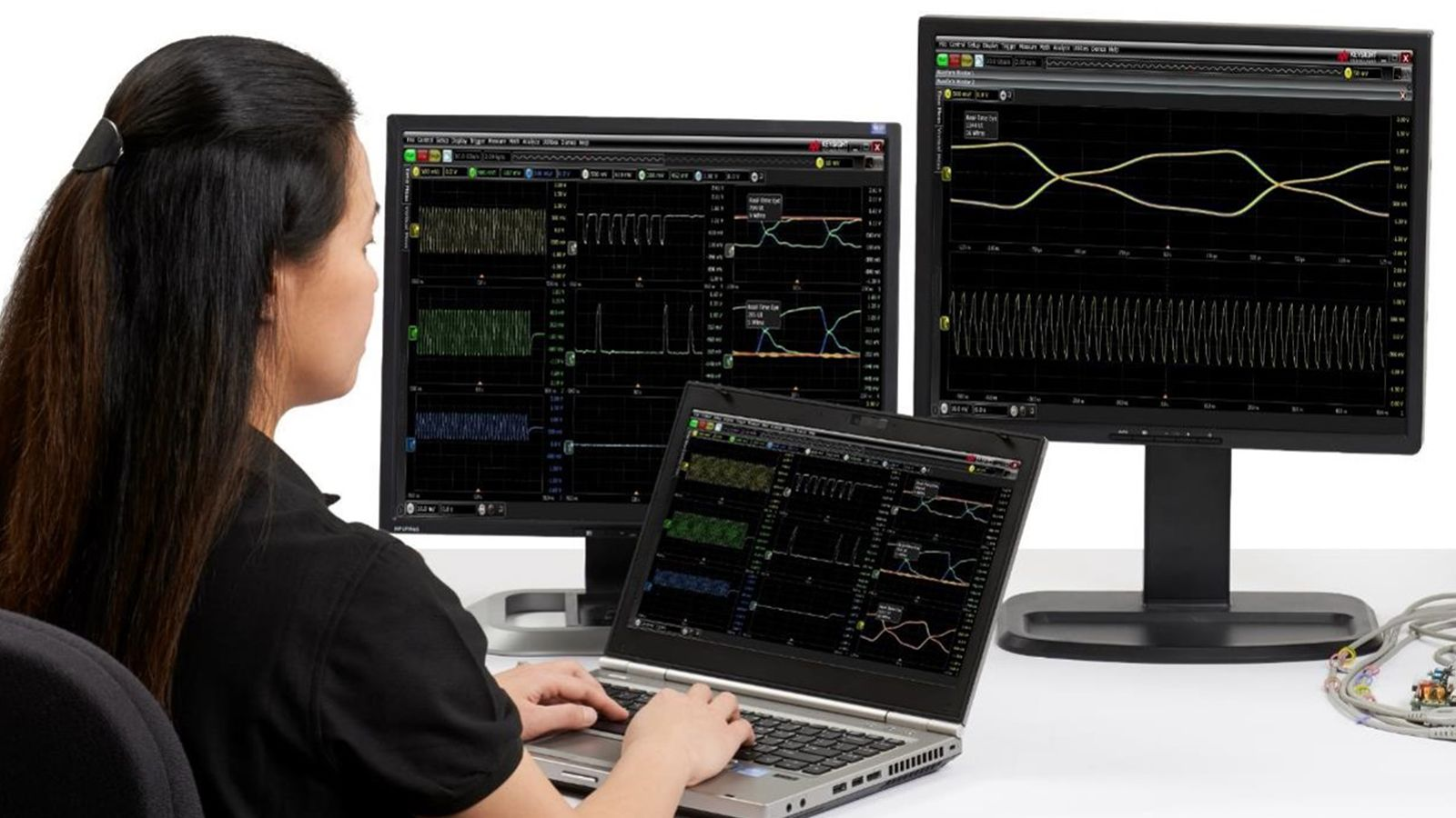 Keysight MXR-Series software applications - signal integrity, power integrity, protocol decode and trigger applications