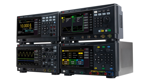 Keysight Smart Bench Essential - DMM, power supply, function generator, and oscilloscope