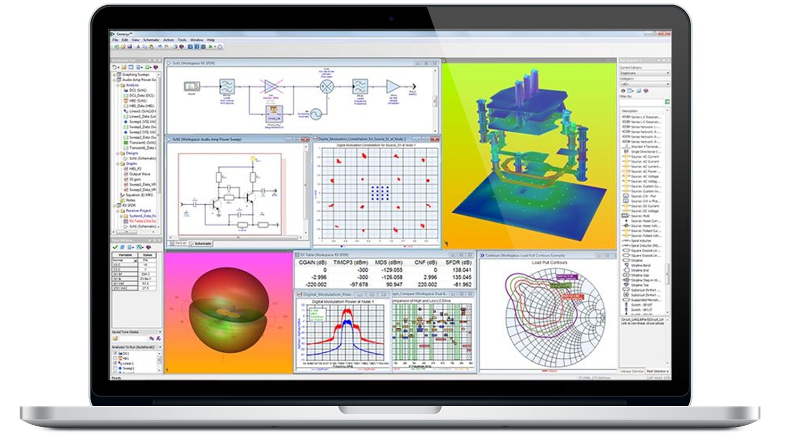 Genesys software – RF Design & Simulation Software