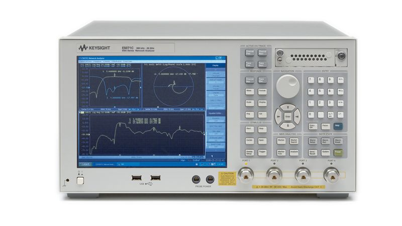 UWB Antenna Measurements with the 20 GHz E5071C ENA Network Analyzer
