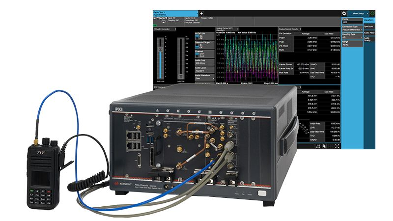 M8920A PXIe Radio Test Set