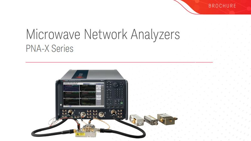 Microwave Network Analyzers PNA-X Series