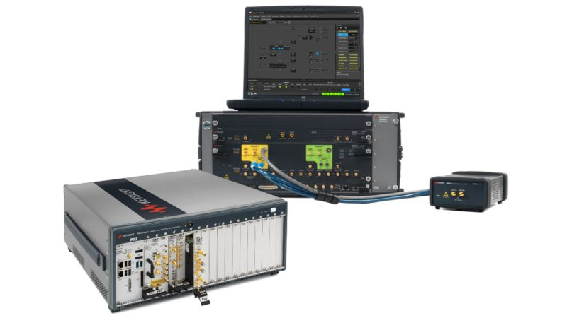PXI and AXIe Instruments, Software, Reference Solutions, and Services