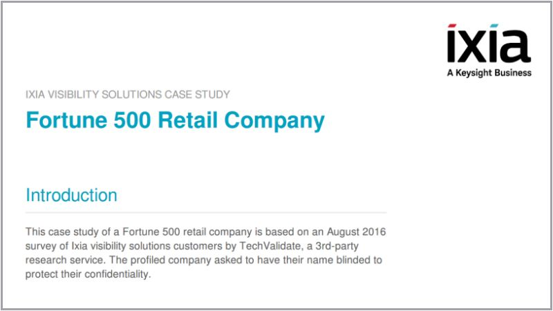 Fortune 500 Retail Company