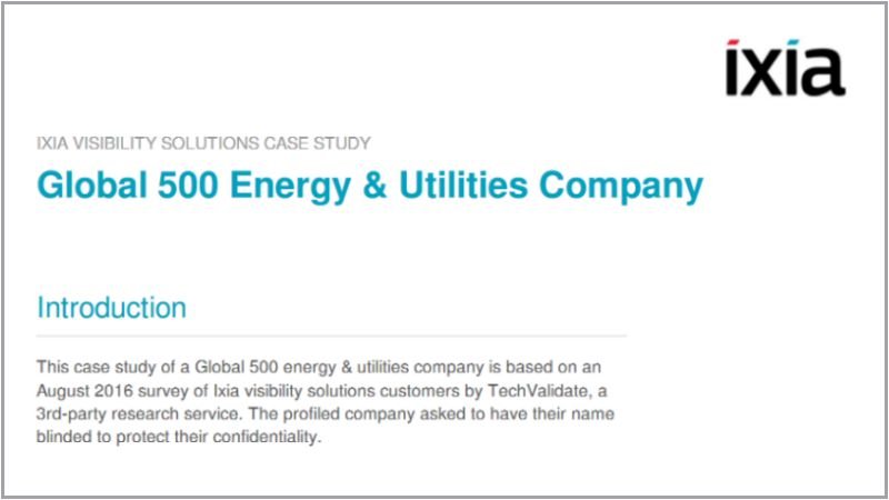 Global 500 Energy and Utilities Company