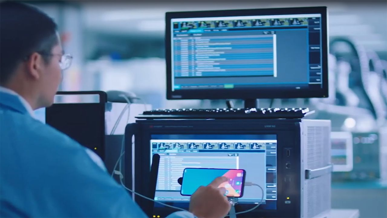 Keysight 5G Test Solutions for the Device Workflow