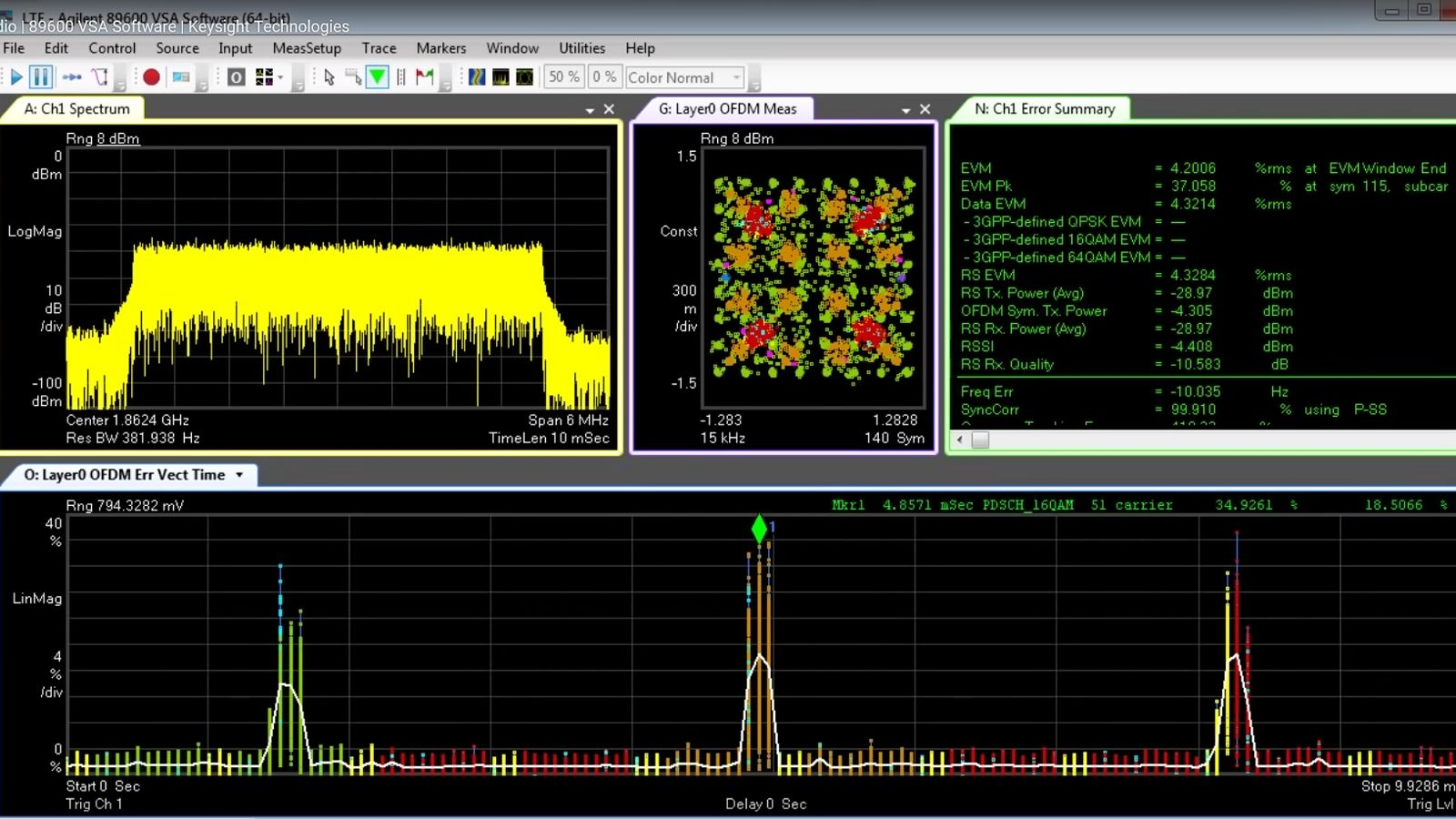 Troubleshooting Interactions Multi-Standard Radio | 89600 VSA Software | Keysight Technologies