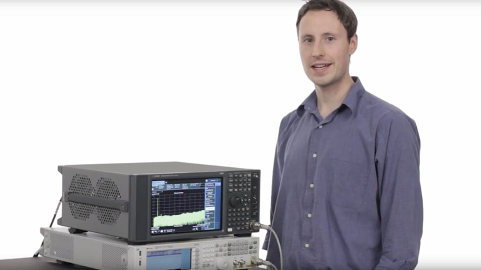 Streamline LTE-A 256QAM Modulation Analysis | Keysight's MXA Signal Analyzer with Multi-touch UI